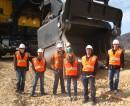 University of Utah students at Bingham Canyon Mine