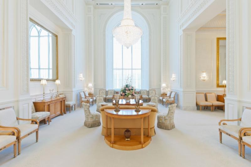 Celestial Room in Brigham City LDS temple