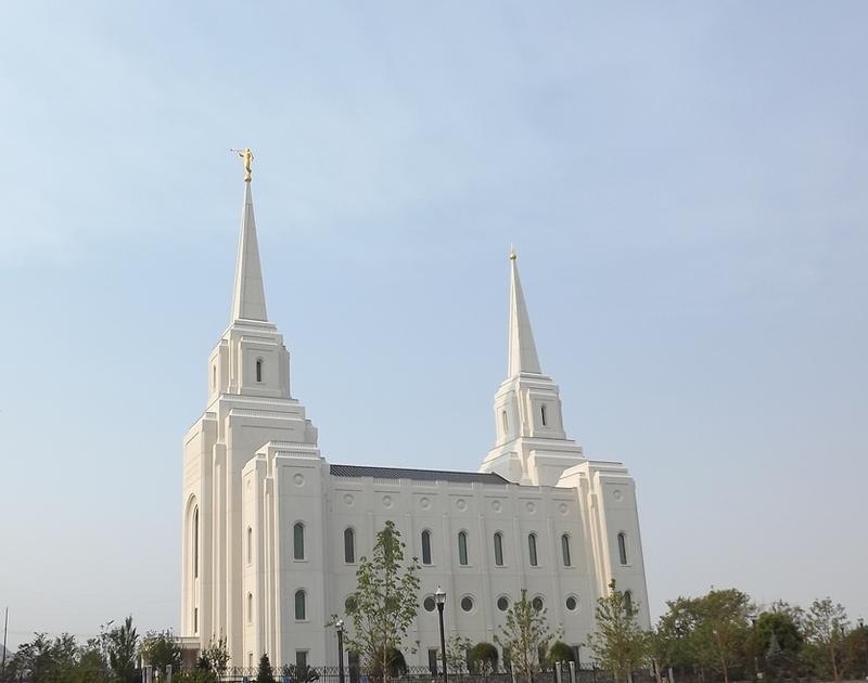 LDS Temple in Brigham City, Utah