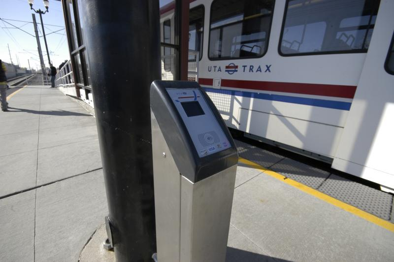 UTA officials have embraced techology that will allow riders to pay fares with their smartphones.  But Apple and other phone manufacturers have yet to equip their devices with hardware to handle the new apps.
