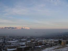 winter air inversion