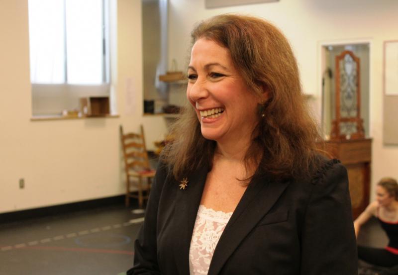 Atistic Director Karen Azenberg at rehearsal
