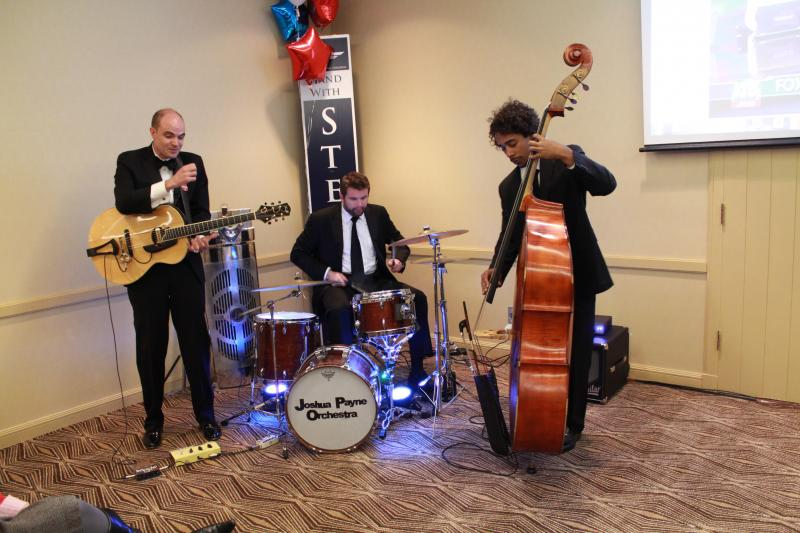 Live band in the Chris Stewart room