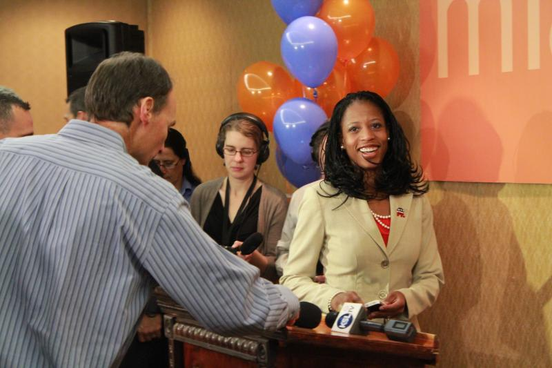 Mia Love at the Utah Republican Headquarters