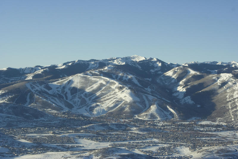 Park City Mountain Resort overlooks the town of Park City