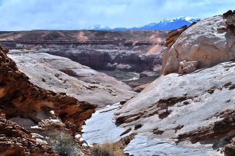 Dirty Devil River in southern Utah