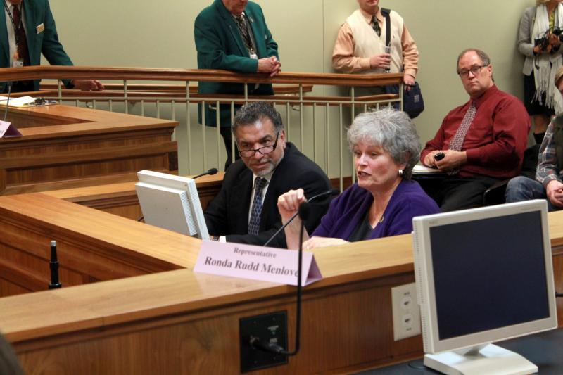 Rep. Ronda Menlove (R.) presents HB 56 to the House Health and Human Services Committee