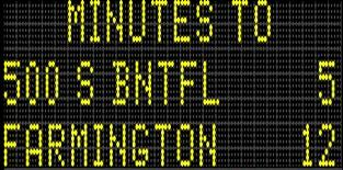 UDOT uses dozens of variable message signs to communicate important information to motorists.