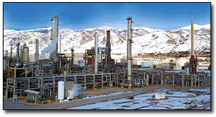 Holly-Frontier oil refinery, Woods Cross, Utah