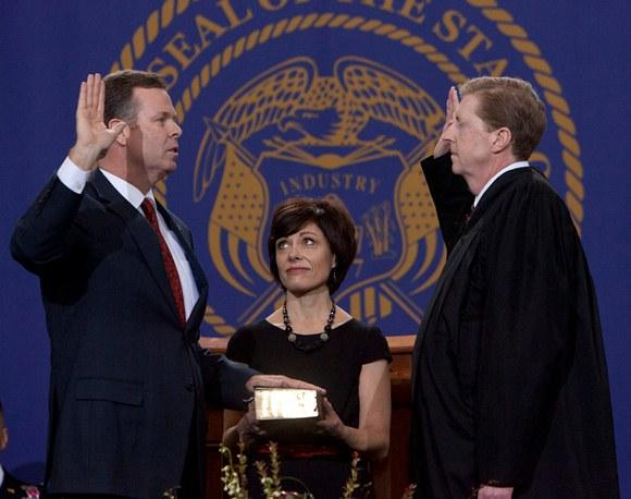 John Swallow at Inauguration