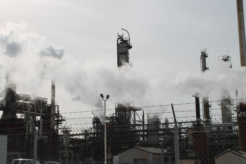 The Holly-Frontier oil refinery in West Bountiful, UT