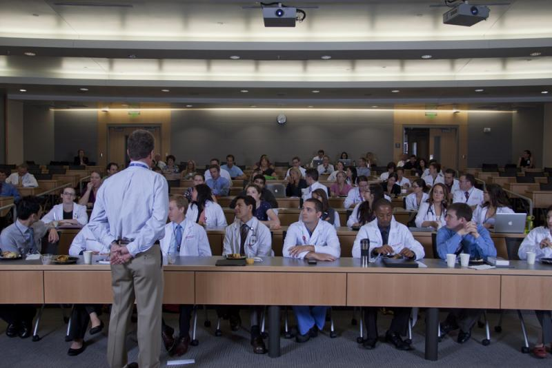 Students at the University of Utah School of Medicine