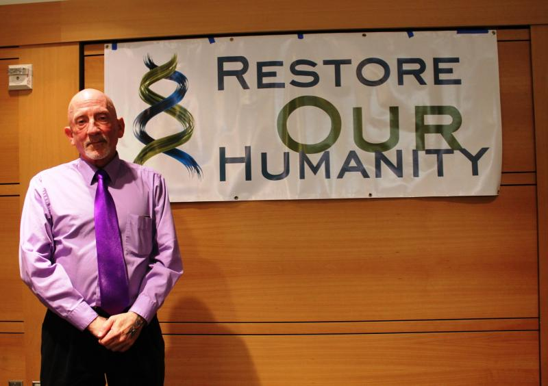 Restore Our Humanity Director Mark Lawrence