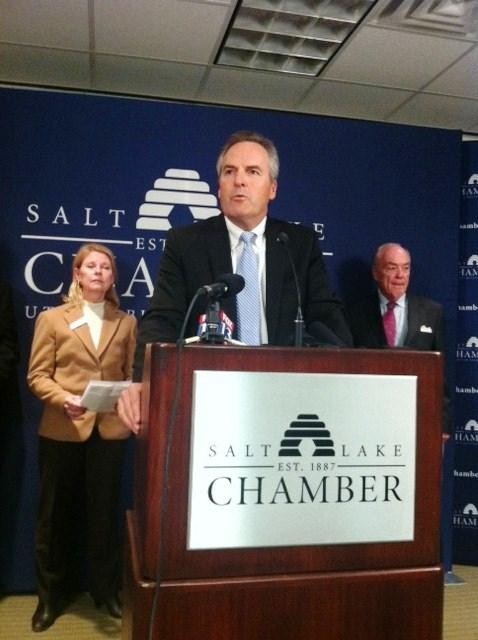 Vale Hale, President and CEO of the Utah Valley Chamber of Commerce.