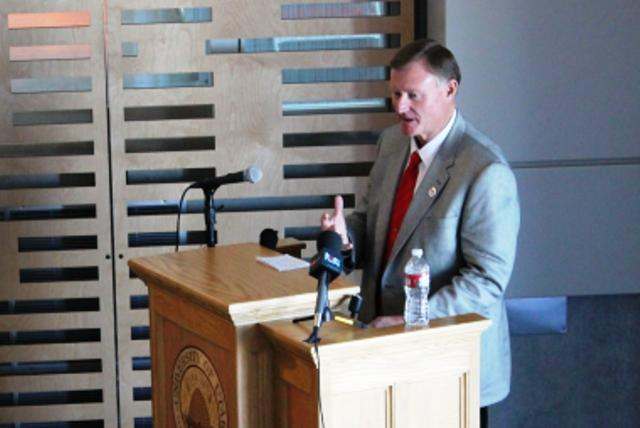 State Senator Evan Vickers of Cedar City, Alumnus of University of Utah School  of Pharmacy