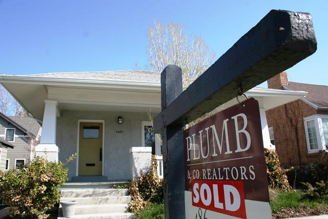 Sold home in popular 15th and 15th area of Salt Lake City