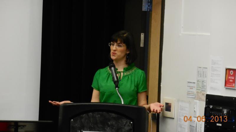 Kate Kelly, organizer of the OrdainWomen website