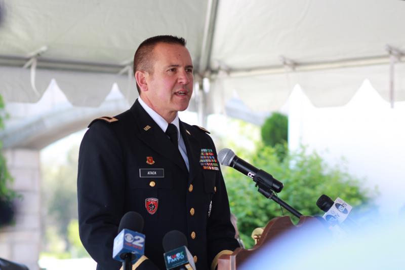 Brigadier General Dallen Atack
