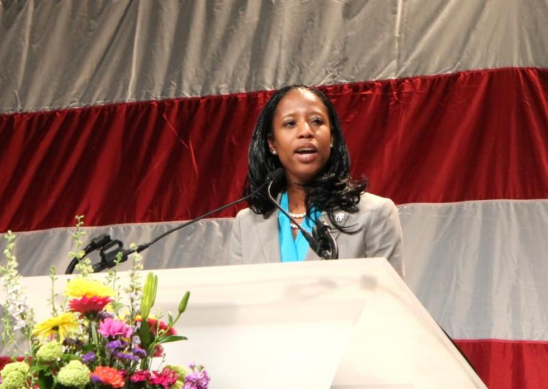 Mia Love at the 2013 Utah Republican Convention