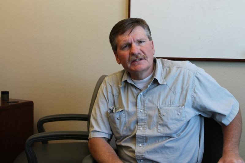 Garfield County Commissioner Leland Pollock