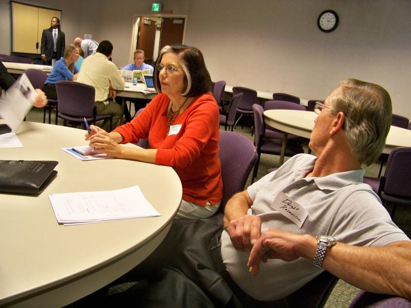 Education officials and other stakeholders discuss ways to improve Salt Lake County's role in education.