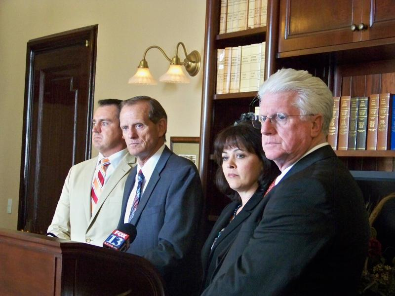 Utah House Republican Leadership address the press after deciding to create a committee to investigate John Swallow