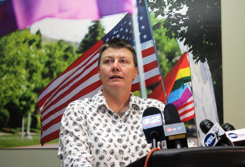 Utah Pride Center Executive Director Valerie Larabee