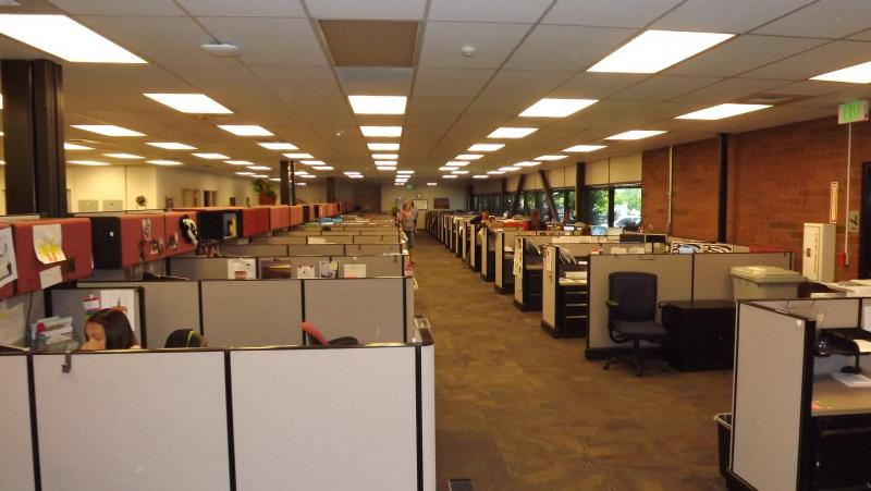 Call center at the Utah Department of Workforce Services