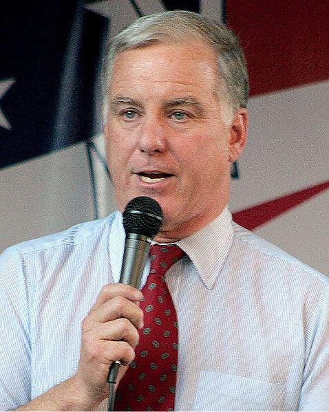Former Vermont Governor and Democratic National Committee Chairman Howard Dean