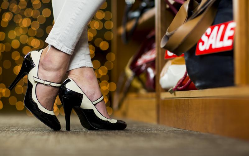 New BYU research shows that shoppers who wear high heels think differently when they shop