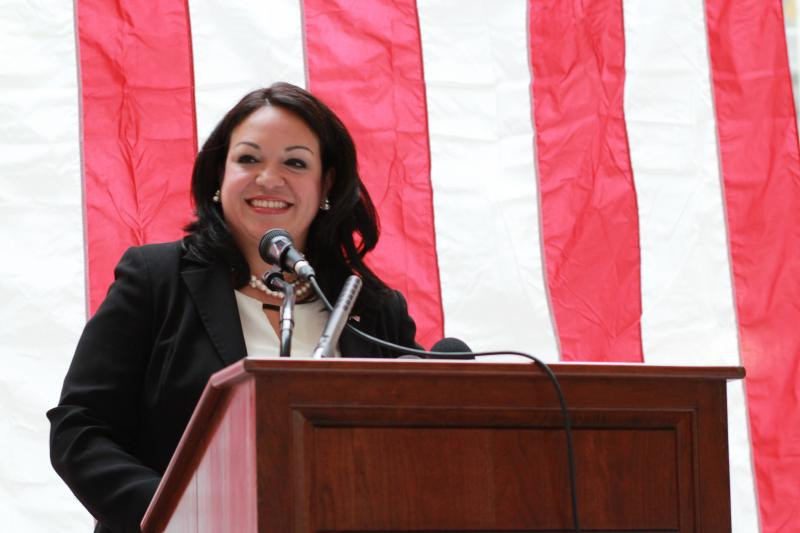 Sen. Luz Robles, D-Salt Lake, announces her candidacy for Utah's 2nd Congressional District