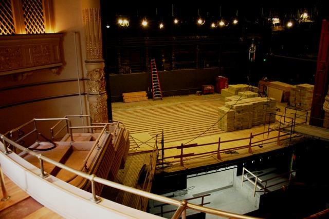 Capitol Theater Stage is being raised 4 inches. Every seat is being restored to new as part of the renovation. The air conditioning is being updated and the lobby is being expanded to include the neighboring Ballet West Centre and Academy.