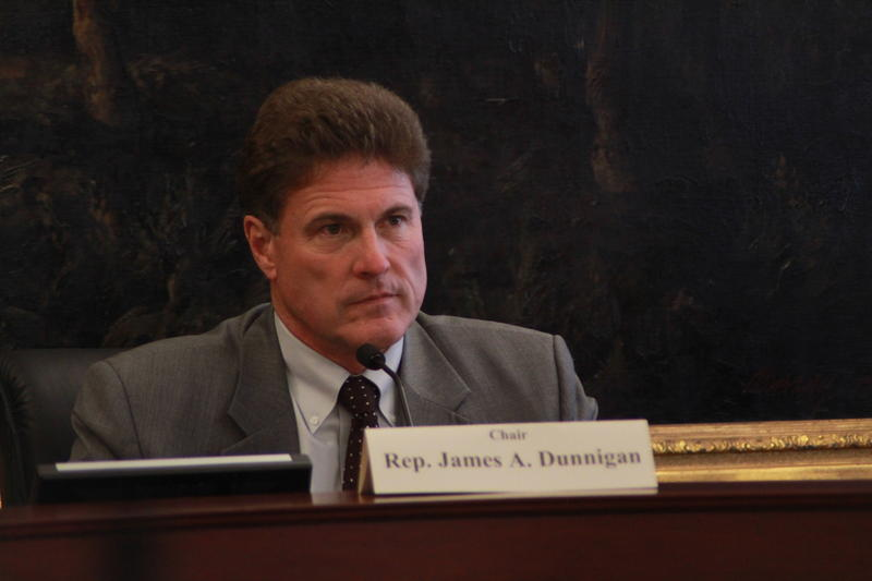 Rep. Jim Dunnigan, R-Taylorsville, conducts the first meeting of the House Special Investigative Committee