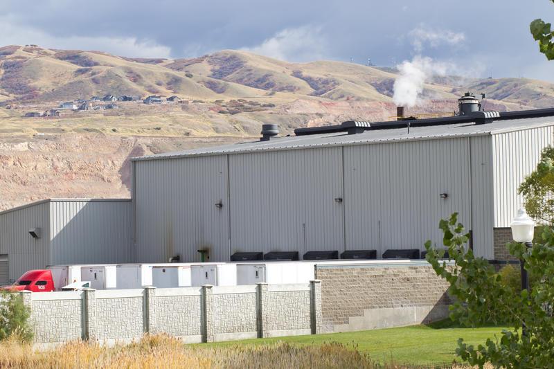 Stericycle Medical Waste Incinerator in North Salt Lake