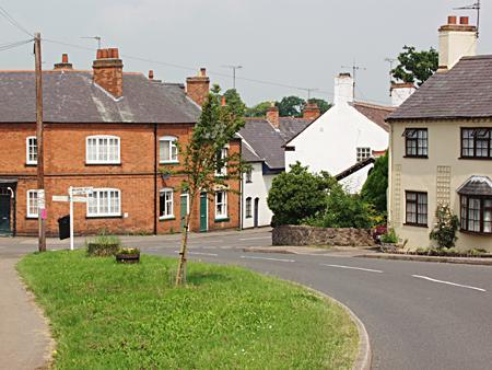 The village of Dunton Bassett, England is the ancestral home of the Greenwells of Ogden