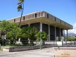 Hawaii State Capitol in Honolulu