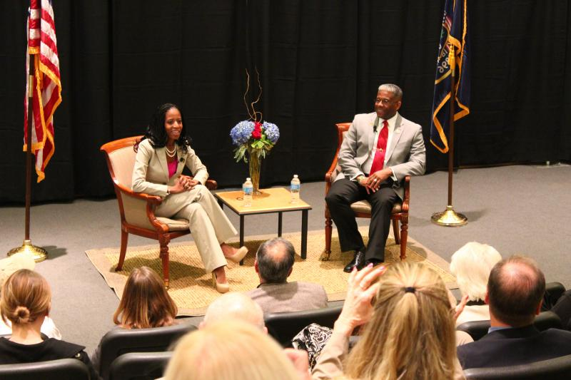 Mia Love and Former Congressman Allan West