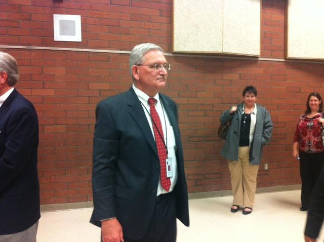 Superintendent Martel Menlove