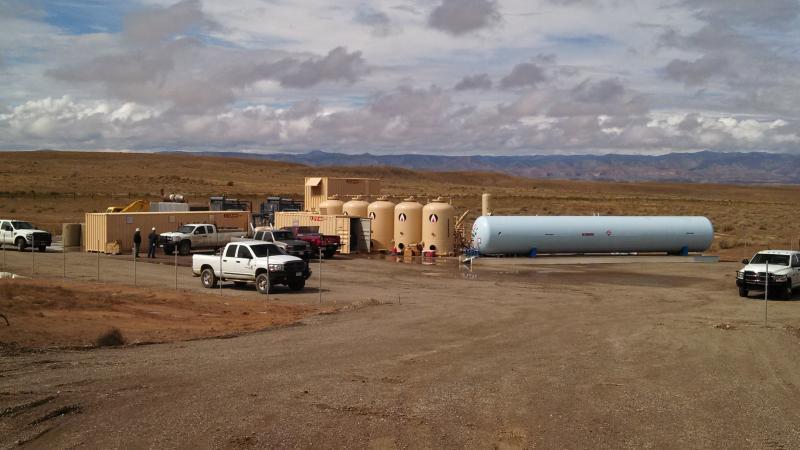 IACX Energy's helium operation at Harley Dome, Utah