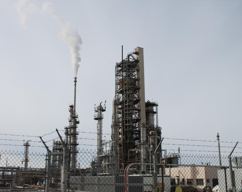 The Holly-Frontier oil refinery in Woods Cross, Utah