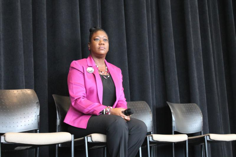 Sybrina Fulton at University of Utah's Olpin Student Union Building, Jan. 16, 2014