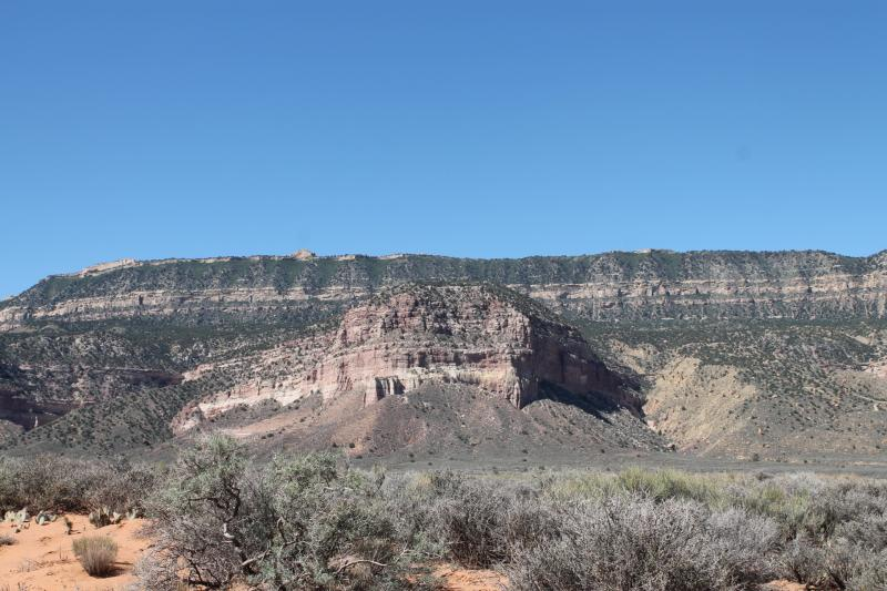 Funding from the federal PILT program helps counties provide services to large areas of federal land.  This landscape is part of the Grand Staircase-Escalante National Monument in Garfield County, Utah