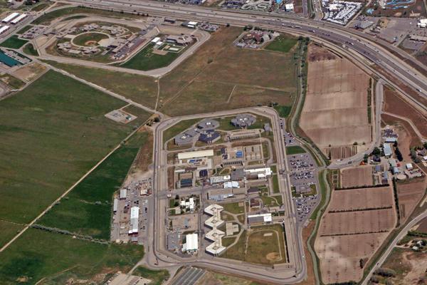 The Utah State Prison in Draper