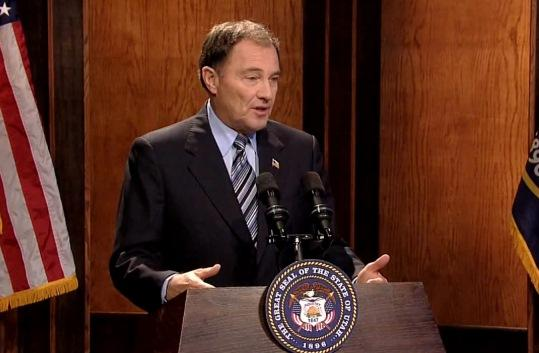 File: Governor Gary Herbert