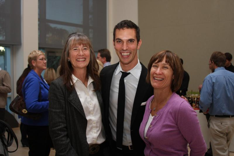 Ari Shapiro at a KUER Donor Meet & Greet