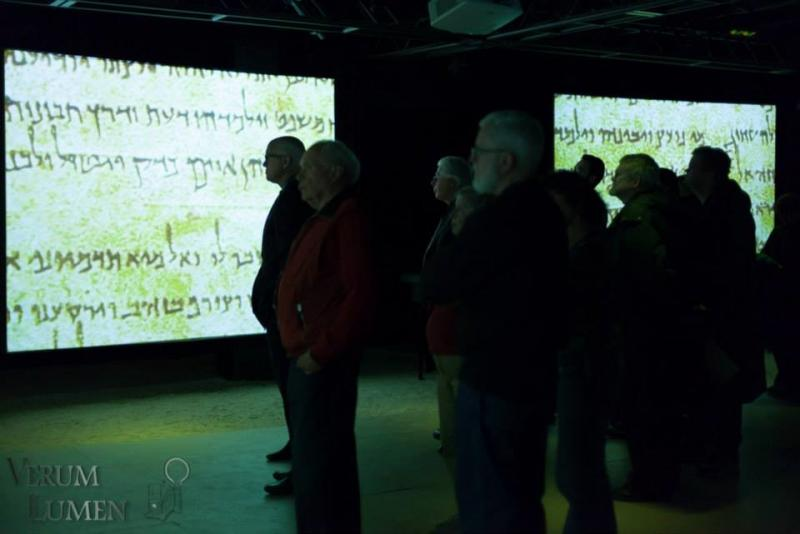 KUER Donors take a look at the Dead Sea Scrolls