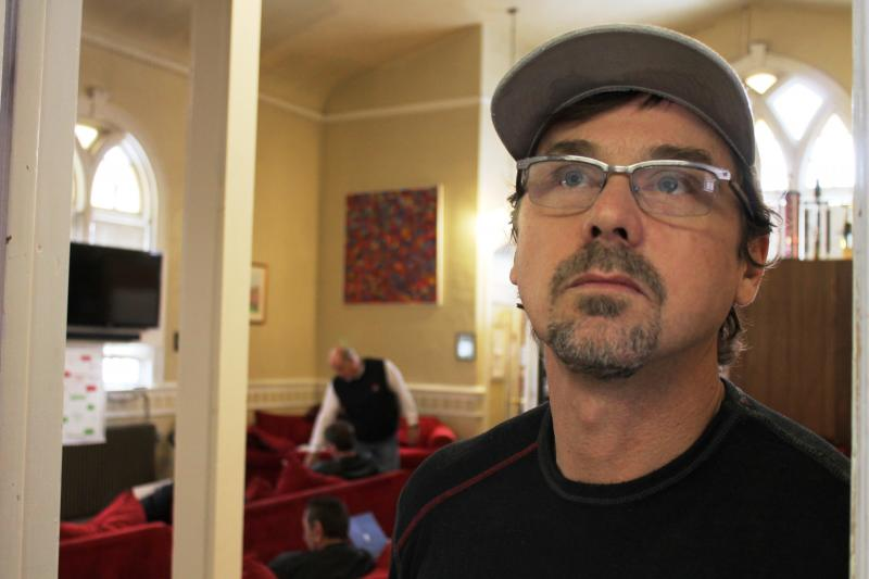 Salt Lake City man works to overcome heroin addiction at First Step House.