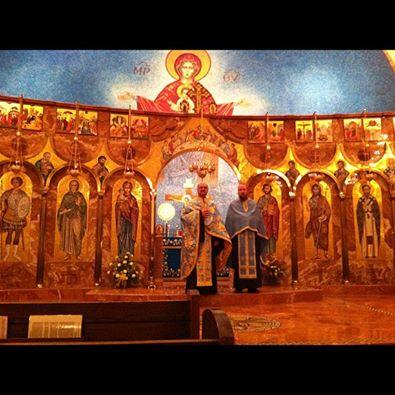 Interior of Prophet Elias Greek Orthodox Church