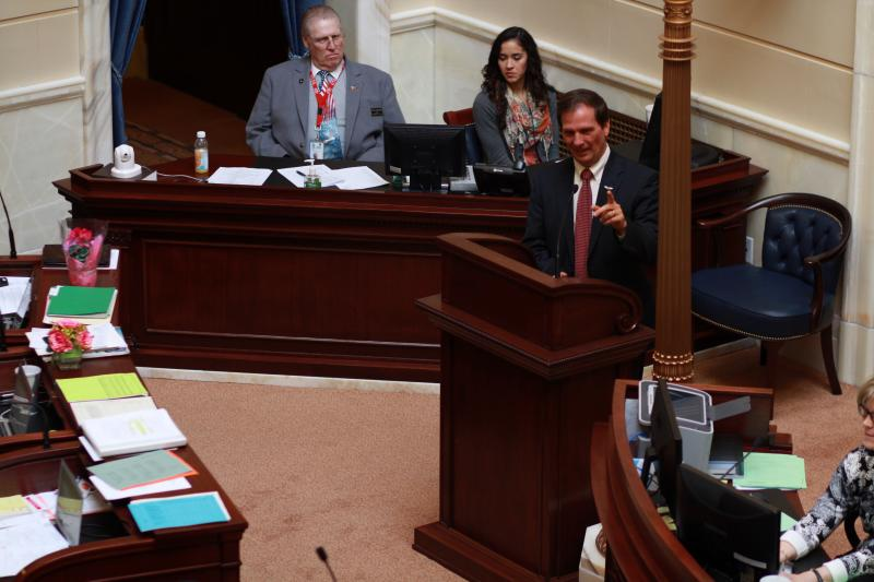Congressman Chris Stewart addresses the Utah Senate