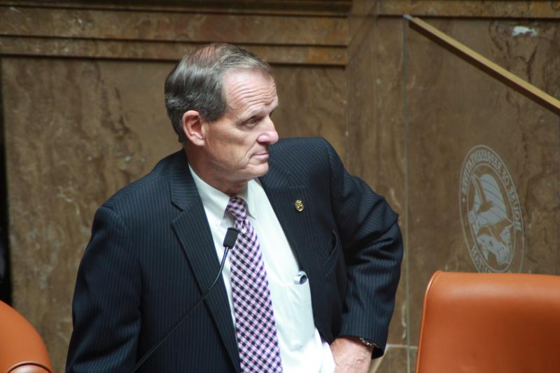 File: Rep. Brad Dee, R-Ogden, on the House floor